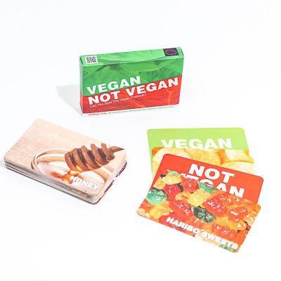 Vegan oder nicht vegan Kartenspiel