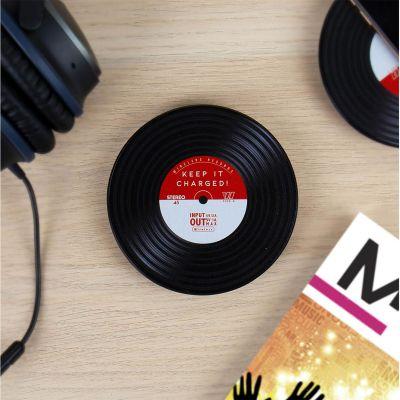 Ladegeräte - Induktions Ladegerät im Schallplatten-Design