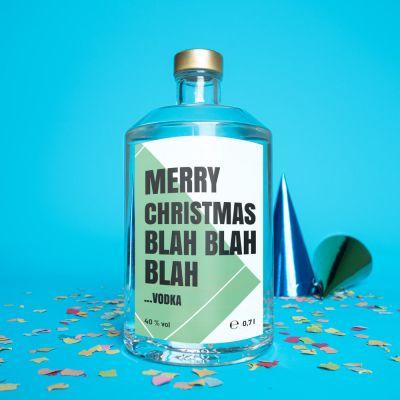 Geburtstagsgeschenke für Frauen - Personalisierbarer Wodka mit Text
