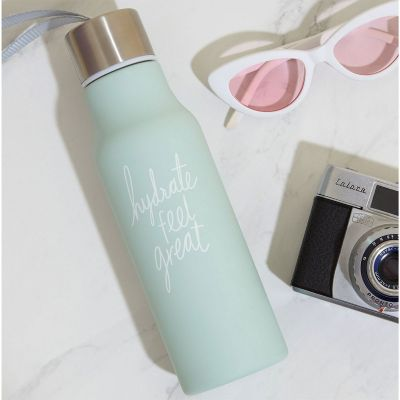 Reise Gadgets - We Live Like This Wasserflasche