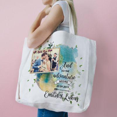 Kleidung & Accessoires - Personalisierbare Tasche zur Hochzeit