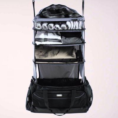 Reise Gadgets - Weekender Reisetasche mit integrierter Garderobe