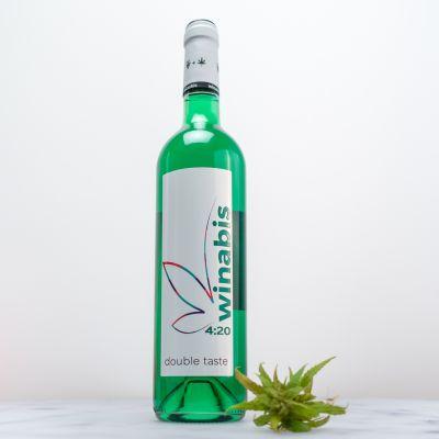 Essen & Trinken - Winabis Cannabis-Wein-Cocktail in Grün