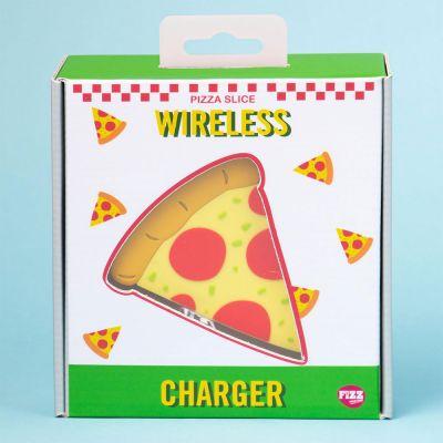 Drahtloses Ladegerät Pizzastück
