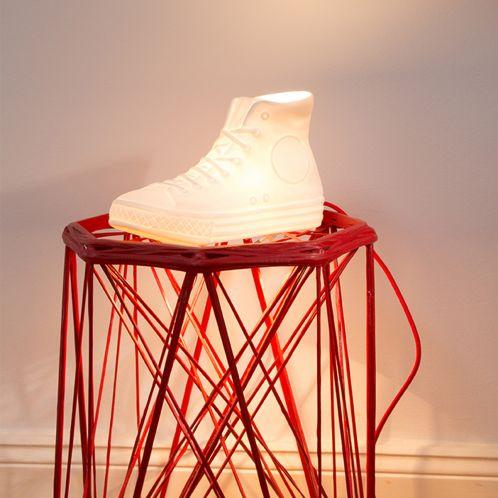 Geschenkideen - N.Y.C. Porzellan Lampe