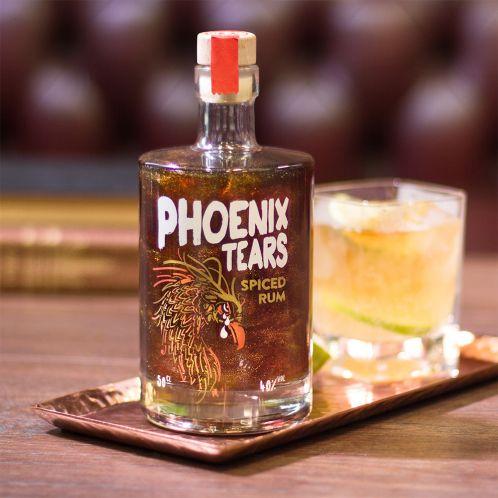 Aromatisierter Rum Die Tränen des Phönix