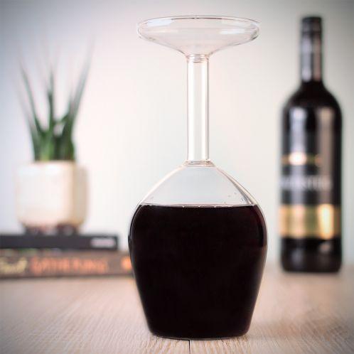 Geschenkideen - Das verkehrte Weinglas