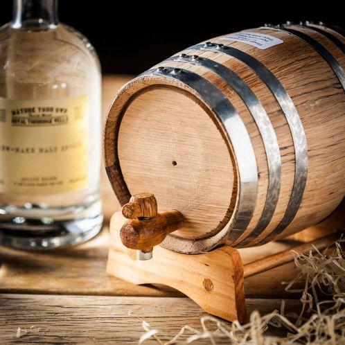 Geschenkideen - Whisky selbst machen - Set mit Eichenfass