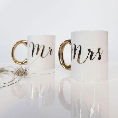 Goldene Tassen Mr & Mrs