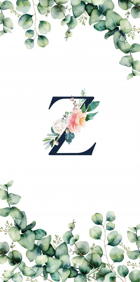 Handtuch mit Monogramm und Text (TOMOXT) - Z
