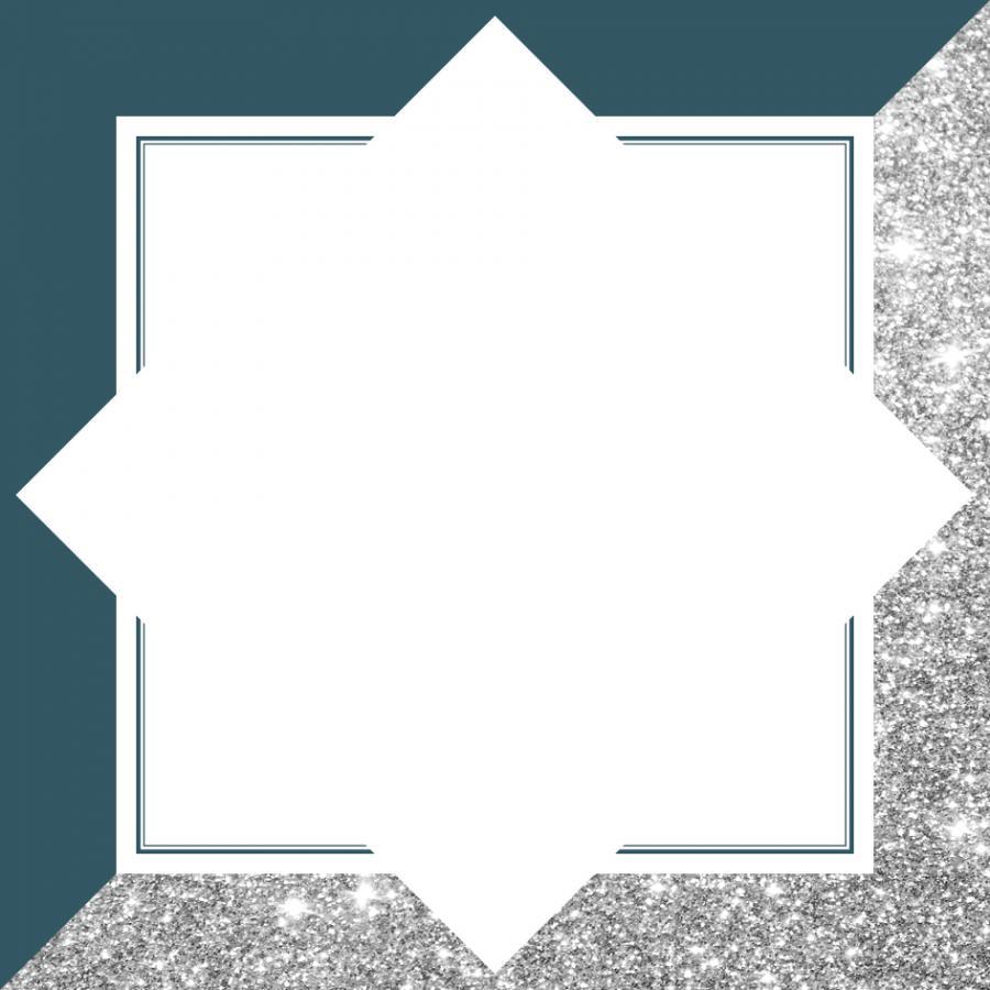 SETEXT - Petrol-Silber